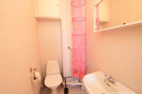 WC (Erdgeschoss) – Ferienhaus Haga