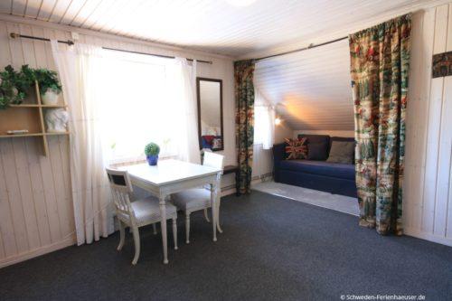 Schlafzimmer 2 (Obergeschoss) – Ferienhaus Haga