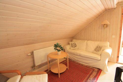 Sitzbereich (Obergeschoss) – Ferienhaus Haga