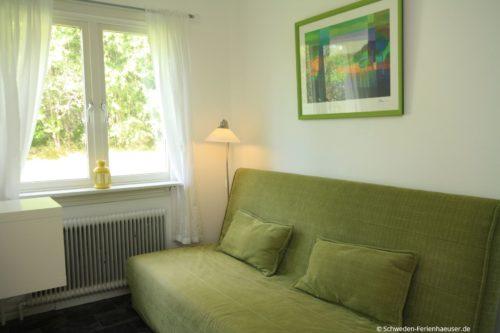 Flur mit Sofa – Ferienhaus Kosta