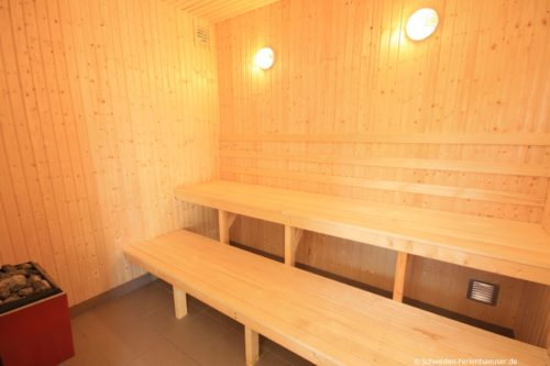 Verbringen Sie entspannte Ferientage in einem Ferienhaus mit Sauna.