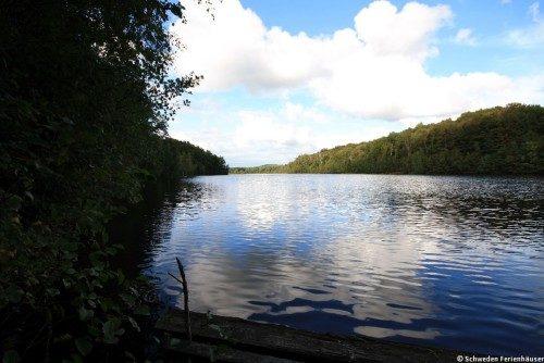 Ferienhausurlaub in Halland am See