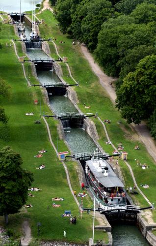 Der Göta-Kanal gilt als die Touristenattraktion schlechthin | © Visit Östergötland