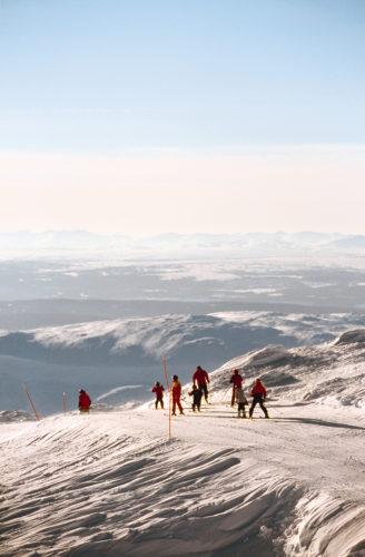 Åre ist das größte, anspruchvollste und zugleich abwechslungsreichste Skigebiet in Schweden | © Henrik trygg/imagebank.sweden.se