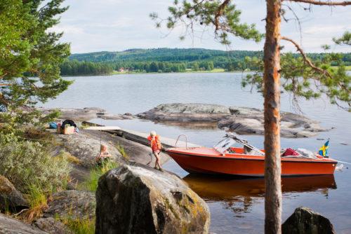 Sommerurlaub in Dalarna | © Johan Willner/imagebank.sweden.se