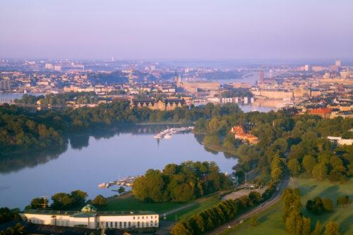 30 Prozent der Stadfläche besteht in Stockholm aus Wasser | © Ola Ericson/imagebank.sweden.se