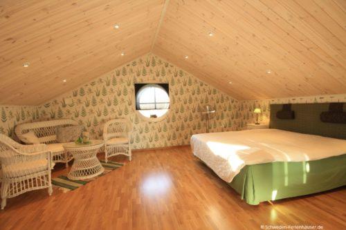 Schlafzimmer 1- Ferienhaus Sjötorpet