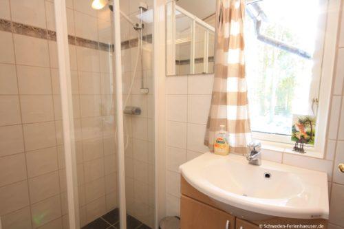 Badezimmer - Ferienhaus Björktorpet