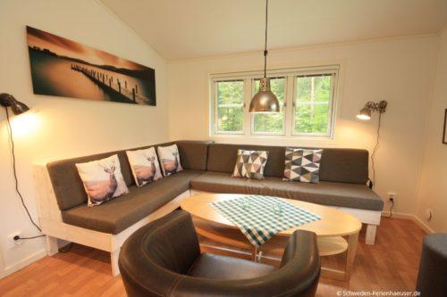Wohn- /Esszimmer mit offener Küche – Ferienhaus Kron
