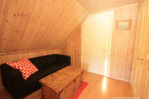 Sofa im Obergeschoss - Ferienhaus Backö
