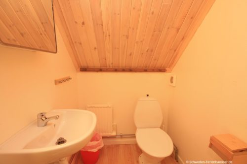 WC - Ferienhaus Backö