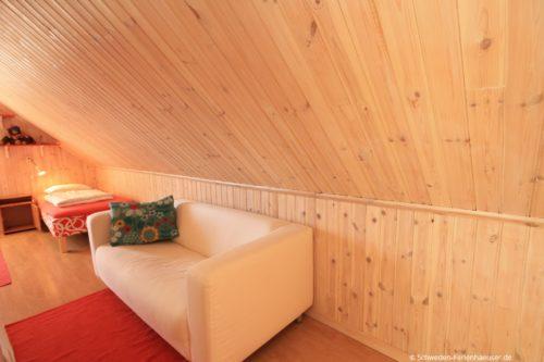 Schlafzimmer 3 - Ferienhaus Backö