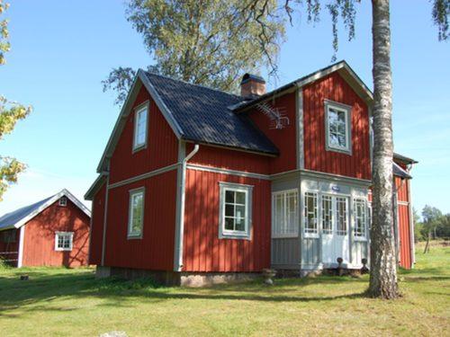 Außenansicht - Ferienhaus Backö