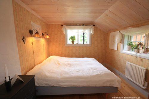 Schlafzimmer 1 – Ferienhaus Härbråten