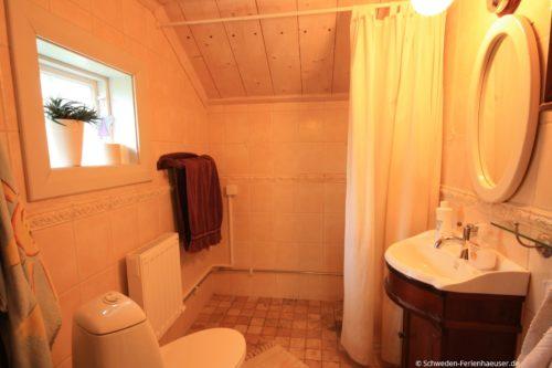 Badezimmer – Ferienhaus Härbråten